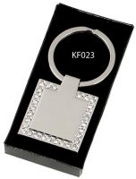 Crown- Diamond Key Ring