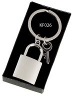 Crown-Padlock Key Ring