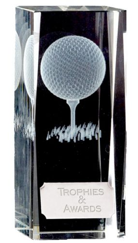 Clarity Crystal Golf Block New 2013