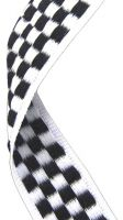 Medal Ribbon Chequered Flag 7 8 X 32 Inch