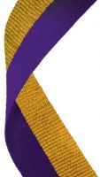 Medal Ribbon Purple and Gold New 2013