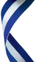 Medal Ribbon Blue White and Blue New 2013