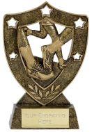 Shield Trophy Awardstar Running
