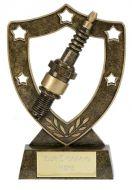 Shield Trophy Awardstar Spark Plug