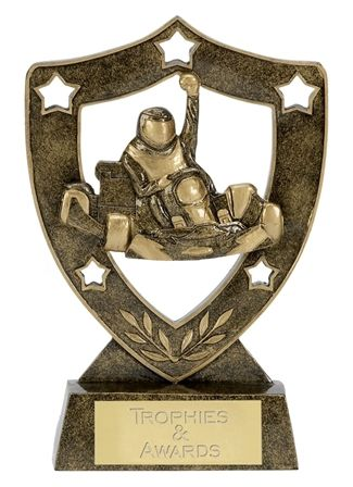 Shield Trophy Awardstar Karting