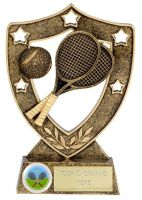 Shield Trophy Awardstar Tennis