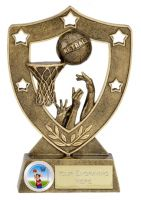 Shield Trophy Awardstar Netball