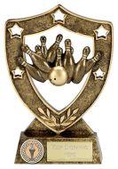 Shield Trophy Awardstar Ten Pin