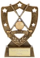 Shield Trophy Awardstar Golf