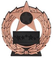 Mega Star. Bronze Plaque