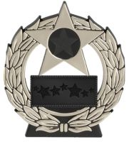 Mega Star. Silver Plaque