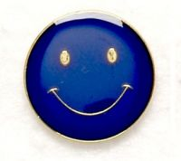 Button Badge Smile Blue (New 2010)