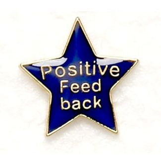 Badge Positive Feedback Blue (New 2010)