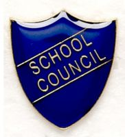 Shield Trophy Award Badge School Council Blue (New 2010)