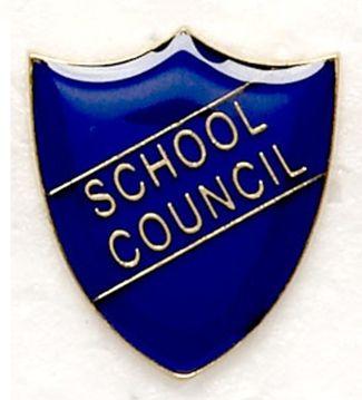Shield Trophy Award Badge School Council Blue (New 2010)