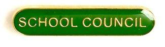Bar Badge School Council Green (New 2010)