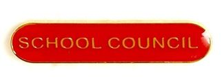 Bar Badge School Council Red (New 2010)