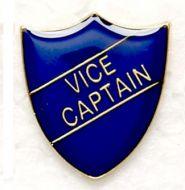 Shield Trophy Award Badge Vice Captain Blue (New 2010)