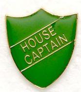Shield Trophy Award Badge House Captain Green (New 2010)