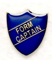 Shield Trophy Award Badge Form Captain Blue (New 2010)