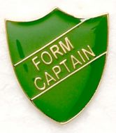 Shield Trophy Award Badge Form Captain Green (New 2010)