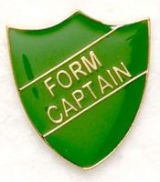 Shield Trophy Award Badge Form Captain Green (New 2010)