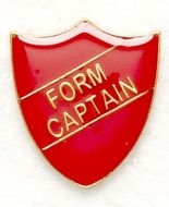 Shield Trophy Award Badge Form Captain Red (New 2010)