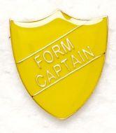 Shield Trophy Award Badge Form Captain Yellow (New 2010)