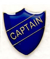 Shield Trophy Award Badge Captain Blue (New 2010)