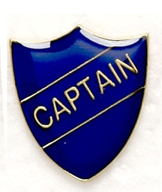 Shield Trophy Award Badge Captain Blue (New 2010)