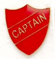 Shield Trophy Award Badge Captain Red (New 2010)