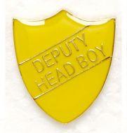 Shield Trophy Award Badge Deputy Head Boy Yellow