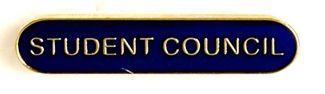 Bar Badge Student Council Blue
