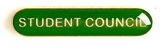 Bar Badge Student Council Green (New 2010)