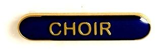 Bar Badge Choir Blue (New 2010)
