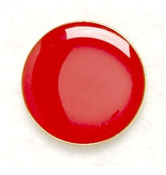 Button Badge Red (New 2010)