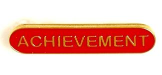 Bar Badge Achievement Red (New 2010)