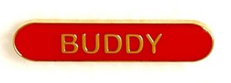 Bar Badge Buddy Red