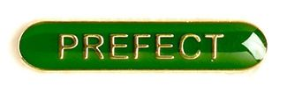 Bar Badge Prefect Green (New 2010)