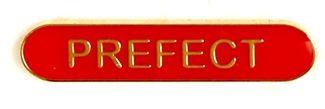 Bar Badge Prefect Red