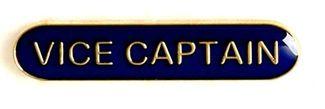 Bar Badge Vice Captain Blue