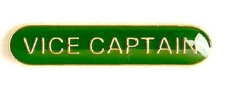Bar Badge Vice Captain Green (New 2010)