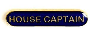 Bar Badge House Captain Blue (New 2010)