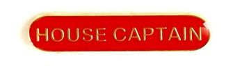 Bar Badge House Captain Red (New 2010)