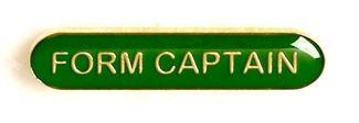 Bar Badge Form Captain Green (New 2010)