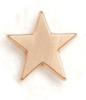 Badge Flat Star Bronze (New 2010)