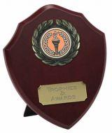 Triumph Wood Shield Trophy Award