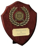 Pure Laurel Shield Trophy Award