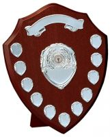 Triumph Silver Annual Shield Trophy Award