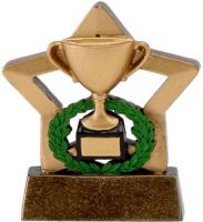 Mini Star Cup Trophy Award Gold - 3.25 Inch - New 2015